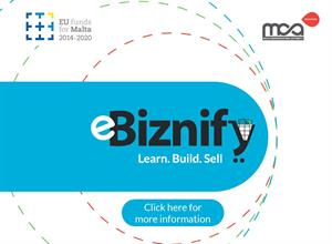 eBiznify - A new training programme focused on enabling Malta's micros and small and medium-sized enterprises to use eCommerce