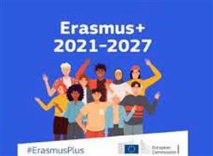 The first round of applications for ERASMUS+ projects under the European funding programme 2021 – 2027 are now open