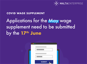 WAGE SUPPLIMENT - REMINDER: Deadline is TODAY!