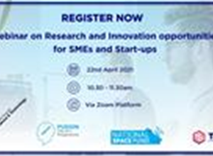 Webinar- informative event on the importance of Research and Innovation (R&I) and the MCST funding programmes available,