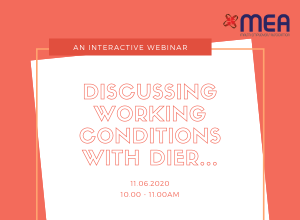 Webinar - Discussing Working Conditions with DIER