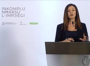 Minister Dalli launches restart incentive schemes for businesses