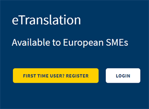e-Translation available for European SMEs