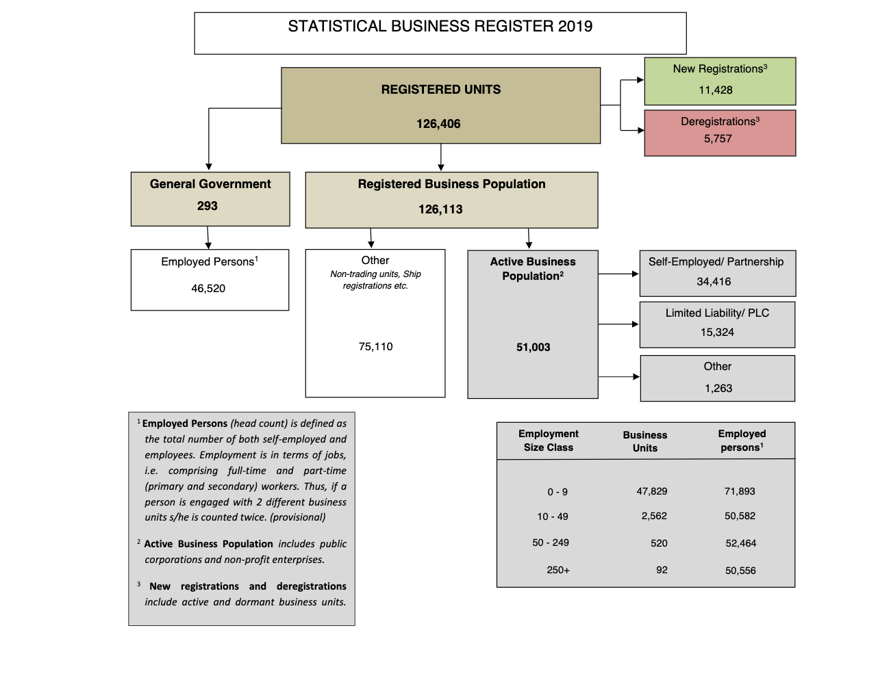 NSO business statistics 2019