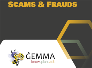 An Interactive Webinar: GEMMA Little Book of Fraud & Scams