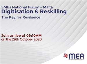Digitisation and reskilling – the key for resilience - SME WEEK 2020