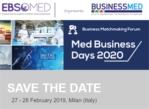 B2B Meetings for SMEs in Milan - Feb 2020