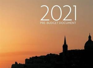MINISTER SCICLUNA LAUNCHES PRE-BUDGET DOCUMENT 2021