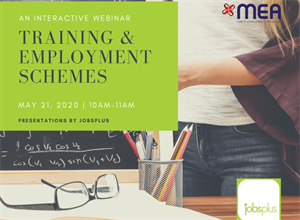 Webinar- Training & Employment Schemes