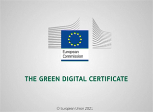 Digital Green Certificate to facilitate safe free movement inside the EU during the COVID-19 pandemic.