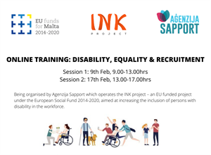 FREE training session on 'Disability, Equality and Recruitment'
