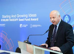 €100,000 TAKEOFF Seed Fund Award, launched.