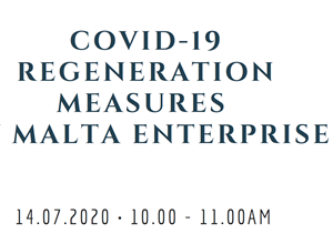 Webinar: Regeneration Measures by Malta Enterprise