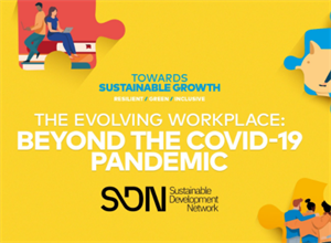 Webinar - 'The Evolving Workplace: Beyond the COVID-19 Pandemic'.